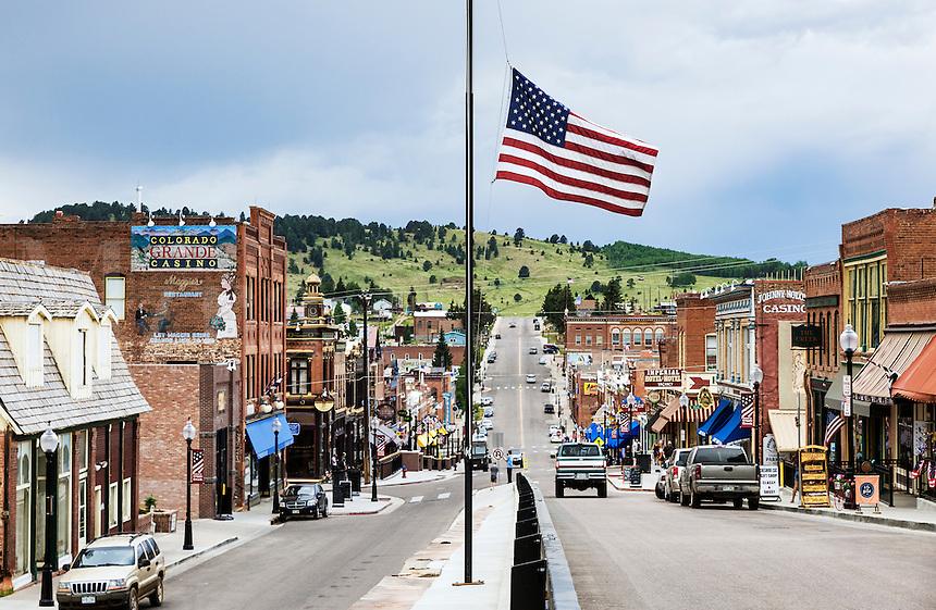 Town of Cripple Creek, Colorado, USA