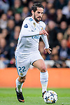 Isco Alarcon of Real Madrid in action during the UEFA Champions League 2017-18 quarter-finals (2nd leg) match between Real Madrid and Juventus at Estadio Santiago Bernabeu on 11 April 2018 in Madrid, Spain. Photo by Diego Souto / Power Sport Images