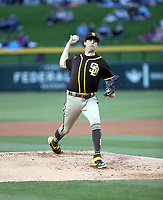 Cal Quantrill - San Diego Padres 2020 spring training (Bill Mitchell)