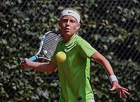 Hilversum, Netherlands, August 10, 2016, National Junior Championships, NJK, Charlotte van Zonneveld (NED)<br /> Photo: Tennisimages/Henk Koster