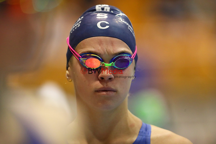 Lucy Bartlett. Session 2 of the AON New Zealand National Age Group Swimming Champs, Wellington Regional Aquatic Centre, Auckland, New Zealand. Monday 19 April 2021 Photo: Simon Watts/www.bwmedia.co.nz