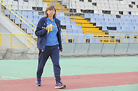 20190306 - LARNACA , CYPRUS : Italian head coach Milena Bertolini  pictured during a women's soccer game between Korea DPR and Italy , on Wednesday 6 March 2019 at the GSZ Stadium in Larnaca , Cyprus . This is final of  the Cyprus Womens Cup 2019 , a prestigious women soccer tournament as a preparation on the FIFA Women's World Cup 2019 in France . PHOTO SPORTPIX.BE | STIJN AUDOOREN