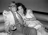 1978 FILE PHOTO<br /> New York City<br /> George Burns at Studio 54<br /> Photo by Adam Scull-PHOTOlink.net