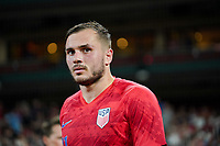 St. Louis, MO - SEPTEMBER 10: Jordan Morris #11 of the United States after their game versus Uruguay at Busch Stadium, on September 10, 2019 in St. Louis, MO.