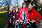 Enjoying a stroll in the Tralee Town Park on Sunday, l to r: Ann Marie Fuller, Alva, Orla and Patrick Falvey.