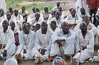 "- religious ceremony of the neo  evangelical sect of ""Jhoannes Muchava"" ....- cerimonia religiosa della setta neo evangelica di ""Jhoannes Muchava"""