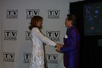 ©2003 KATHY HUTCHINS  / HUTCHINS PHOTO.THE TV LAND AWARDS:  A CELEBRATION OF CLASSIC TV .HOLLYWOOD, CA.MARCH 2, 2003..DAVID CASSIDY.STEFANIE POWERS