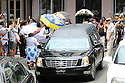 Family, friends and well-known politicians say goodbye to former US Rep. Lindy Boggs during her funeral at St. Louis Cathedral, New Orleans, Aug. 1, 2013.
