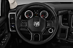 Car pictures of steering wheel view of a 2018 Ram Ram 3500 Tradesman Crew Cab Long 4 Door Pick Up