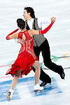 Cathy Reed and Chris Reed of Japan compete in the Figure Skating Team Ice Dance Short Program during the 2014 Sochi Olympic Winter Games at Iceberg Skating Palace on February 8, 2014 in Sochi, Russia. Photo by Victor Fraile / Power Sport Images