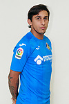 Getafe CF's Damian Suarez during the session of the official photos for the 2017/2018 season. September 19,2017. (ALTERPHOTOS/Acero)