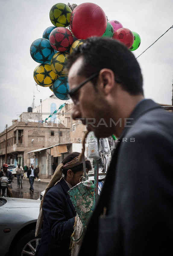 Sana'a. Near Hadda street.
