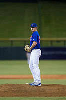 AZL Cubs relief pitcher Mitch Stophel (62) prepares to deliver a pitch to the plate against the AZL Diamondbacks on August 11, 2017 at Sloan Park in Mesa, Arizona. AZL Cubs defeated the AZL Diamondbacks 7-3. (Zachary Lucy/Four Seam Images)