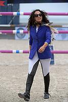 MIAMI BEACH, FL - APRIL 20: Danielle Goldstein at the Longines Global Champions Tour finals in Miami Beach on April 20, 2019 in Miami Beach, Florida<br /> <br /> <br /> People:  Danielle Goldstein