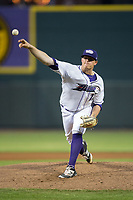 Winston-Salem Dash starting pitcher Brannon Easterling (27) delivers a pitch to the plate against the Buies Creek Astros at BB&T Ballpark on April 13, 2017 in Winston-Salem, North Carolina.  The Dash defeated the Astros 7-1.  (Brian Westerholt/Four Seam Images)