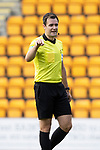 St Johnstone v Dundee United…22.08.21  McDiarmid Park    SPFL<br />Referee Don Robertson<br />Picture by Graeme Hart.<br />Copyright Perthshire Picture Agency<br />Tel: 01738 623350  Mobile: 07990 594431