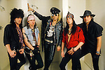 Various portraits & live photographs of the rock band, Faster Pusscat.