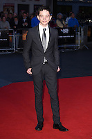 """Lewis MacDougall<br /> at the London Film Festival premiere for """"A Monster Calls"""" at the Odeon Leicester Square, London.<br /> <br /> <br /> ©Ash Knotek  D3162  06/10/2016"""