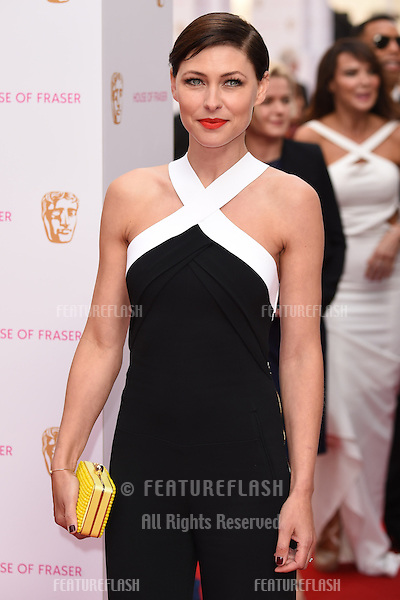 Emma Willis<br /> arrives for the 2015 BAFTA TV Awards at the Theatre Royal, Drury Lane, London. 10/05/2015 Picture by: Steve Vas / Featureflash