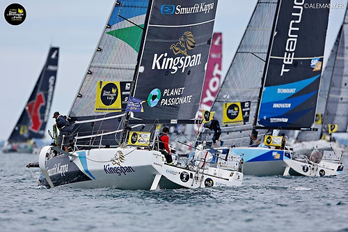 Ireland's Tom Dolan and French co-skipper Tanguy Leglatin finished the Tour de Bretagne in 13th place