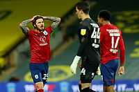 6th April 2021; Carrow Road, Norwich, Norfolk, England, English Football League Championship Football, Norwich versus Huddersfield Town; A dejected Danny Ward of Huddersfield Town after the 7-0 loss