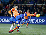 23.01.2019 Kilmarnock v Rangers: Kyle Lafferty comes close