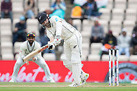 Kane Williamson, New Zealand clips to the square leg boundary for four runs during India vs New Zealand, ICC World Test Championship Final Cricket at The Hampshire Bowl on 22nd June 2021