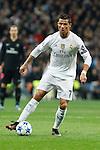 Real Madrid´s Cristiano Ronaldo during Champions League soccer match between Real Madrid  and Paris Saint Germain at Santiago Bernabeu stadium in Madrid, Spain. November 03, 2015. (ALTERPHOTOS/Victor Blanco)