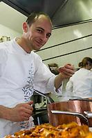"""Europe/France/Rhone-Alpes/73/Savoie/St-Marcel: Maxime Meilleur en cuisine ,  Hotel-restaurant """"La Bouitte"""""""