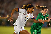 PASADENA, CALIFORNIA - August 03: Jessica McDonald #22 during their international friendly and the USWNT Victory Tour match between Ireland and the United States at the Rose Bowl on August 03, 2019 in Pasadena, CA.