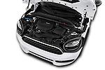 Car Stock 2018 MINI Countryman 5-Door 5 Door Hatchback Engine  high angle detail view