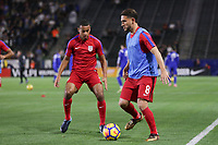 Carson, CA - Sunday January 28, 2018: Cristian Roldan prior to an international friendly between the men's national teams of the United States (USA) and Bosnia and Herzegovina (BIH) at the StubHub Center.