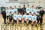 Mercy Mounthawk U19 Basketball team<br /> Kneeling l to r: Zygimantas Kaletke, Daniel Bowler, Jim and Sean Pollmann-Daamen, James Fernane, Cian Devine and David Burke.<br /> Back l to r: Lindsay Moriarty (Coach), Darragh O'Connor, Sean Collins, Oliver Hart, Leeroy Odiahi, David Goreamskii , Darragh Kennelly, Stephen Bowler, Jimmy Diggins (Coach) and John Dowling (Manager).