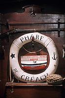 Europe/France/Bretagne/29/Finistère/Ile d'Ouessant: Musée des Phares et Balises du Phare de Creac'h détail bouée