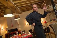 Europe/France/Centre/41/Loir-et-Cher/Sologne/Montlivault: Ludovic Laurenty chef du  restaurant: La Maison d'à Côté [Non destiné à un usage publicitaire - Not intended for an advertising use]