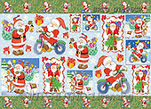 Alfredo, CHRISTMAS SANTA, SNOWMAN, decoupage, paintings(BRTOD1506CP,#X#,#DP#) Weihnachten, Navidad, illustrations, pinturas