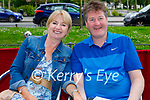 Enjoying the dining experience in Croi on Saturday, l to r: Nuala and Joe Walsh.