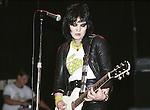 Joan Jett 1980 and The Blackhearts<br /> © Chris Walter