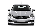 Car photography straight front view of a 2020 Opel Astra Edition 5 Door Hatchback Front View