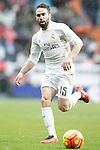 Real Madrid's Daniel Carvajal during La Liga match. February 13,2016. (ALTERPHOTOS/Acero)