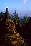 Borobudur temple, Java, Indonesia, 2002.