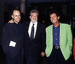 GABRIELE SALVATORES, ETTORE SCOLA E JACK LANG <br /> AMFAR FOUNDATION CHARITY GALA PALAZZO VOLPI VENEZIA 1993
