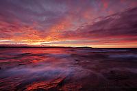 Presque Isle Autumn Sunset