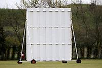 Sightscreen during Rainham CC (batting) vs South Woodford CC, Hamro Foundation Essex League Cricket at Spring Farm Park on 1st May 2021