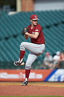 Boston College Eagles relief pitcher John Witkowski (31) in action against the North Carolina State Wolfpack in Game Two of the 2017 ACC Baseball Championship at Louisville Slugger Field on May 23, 2017 in Louisville, Kentucky. The Wolfpack defeated the Eagles 6-1. (Brian Westerholt/Four Seam Images)