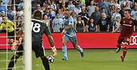Kansas City, Kansas - Saturday August 10, 2019: Real Salt Lake defeated Sporting KC 2-1 in a Major League Soccer (MLS) game at Children's Mercy Park.