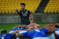Maori's Josh Ioane during the international rugby match between Manu Samoa and the Maori All Blacks at Sky Stadium in Wellington, New Zealand on Saturday, 26 June 2021. Photo: Dave Lintott / lintottphoto.co.nz