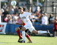 Perry Kitchen #5 of the University of Akron during the 2010 College Cup final against the University of Louisville at Harder Stadium, on December 12 2010, in Santa Barbara, California. Akron champions, 1-0.