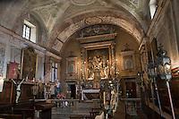 Europe/France/Provence-Alpes-Côtes d'Azur/06/Alpes-Maritimes/Alpes-Maritimes/Arrière Pays Niçois/Sospel: Chapelle des Pénitents Blancs ou Chapelle Sainte-Croix