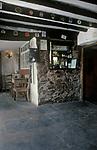 The Village Pub. Royal Oak, Luxborough, Somerset. England 1990s 1991